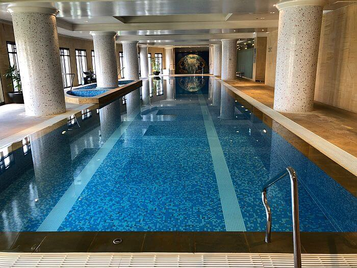 Indoor pool at Park Hyatt Melbourne