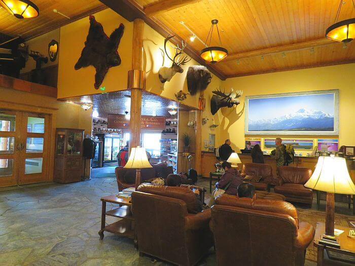 Lobby at Pike's Waterfront Lodge