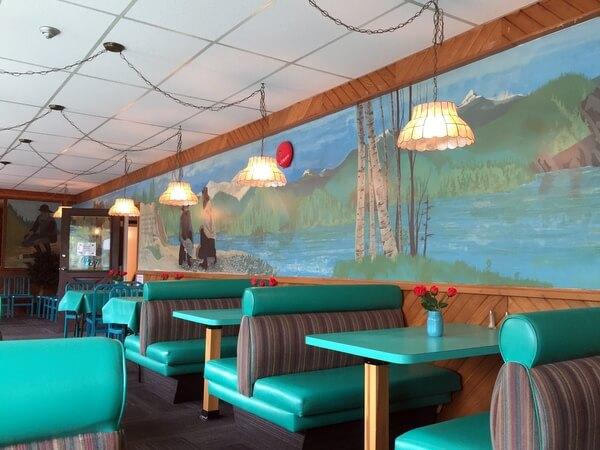 Cafe, The Stoke Hotel, Revelstoke BC Canada