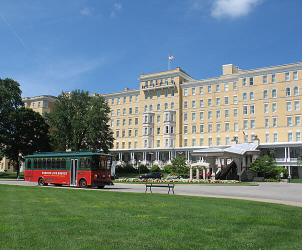 French Lick Resort, Indiana (Photo by Susan McKee)