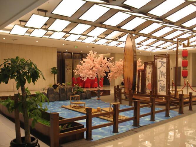 Wenyuange Hotel, Hancheng, Shaanxi, China (Photo by Susan McKee)
