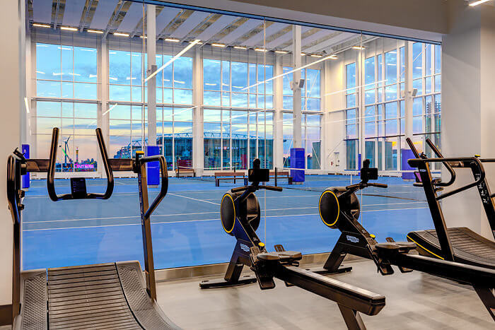 Hotel X Toronto fitness center