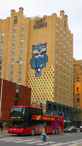 Owl Mural Kimpton Saint George