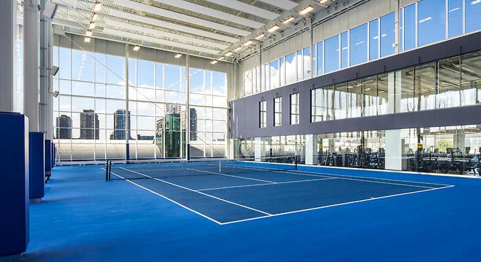 Tennis Court, Hotel X Toronto