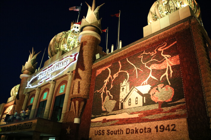 Late Night Check In After The Corn Palace Sioux Falls Sd