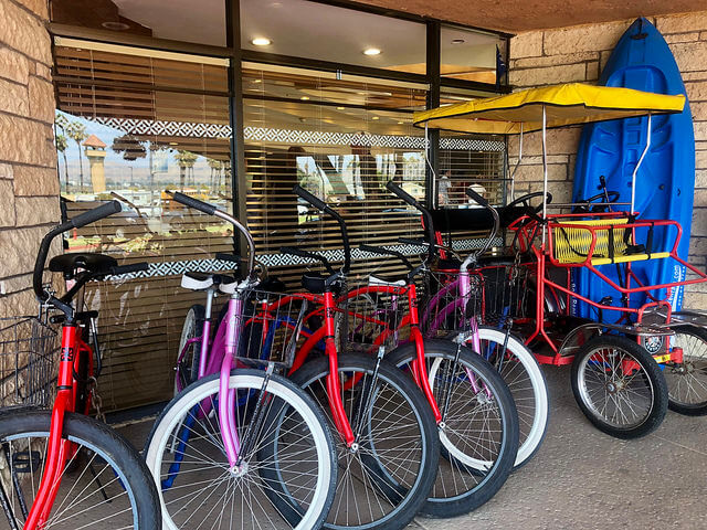 bikes for rent, four points by sheraton ventura harbor resort