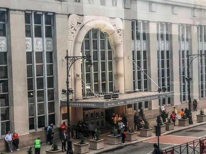 Penn Station Newark exterior