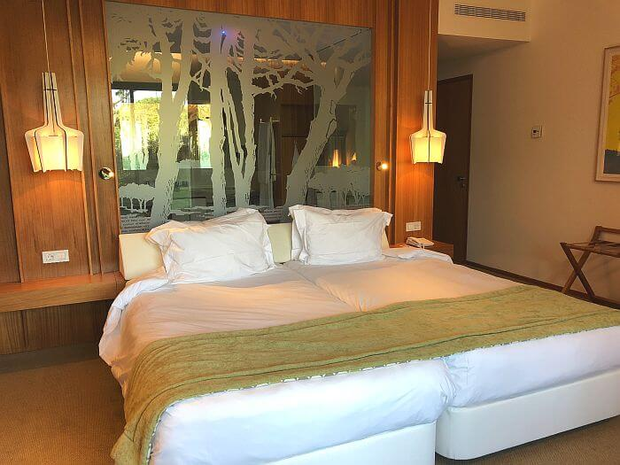 Deluxe room with king bed at Martinhal Cascais Family Hotel