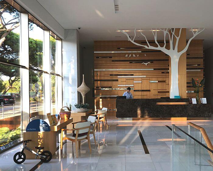 Lobby area Martinhal Cascais Family Hotel