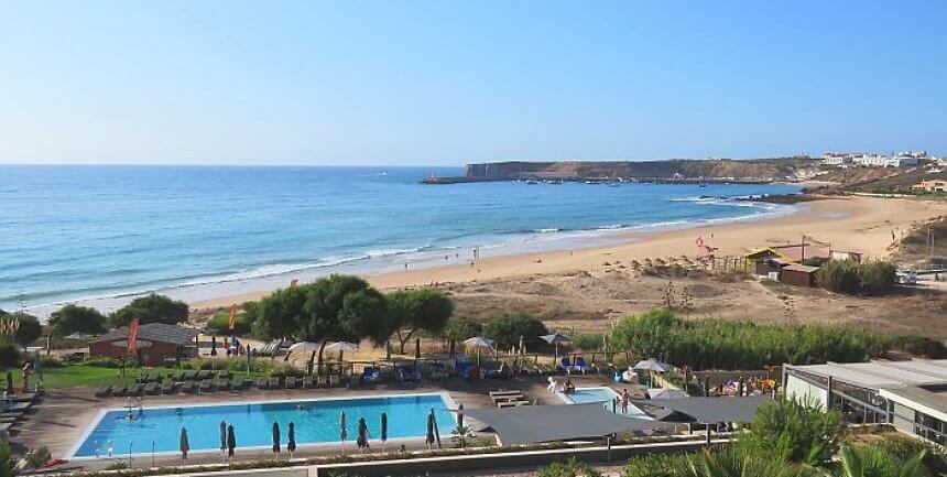 coastal view from Martinhal Sagres Beach Family Resort