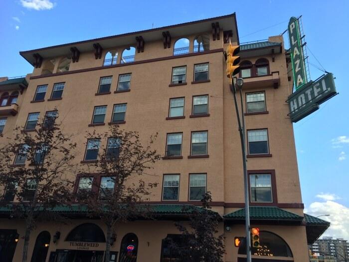 Exterior, Plaza Hotel, Kamloops, BC, Canada
