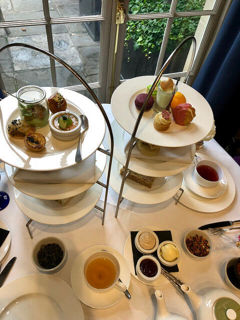 royal crescent afternoon tea,dower house restaurant, afternoon tea bath england, high tea, royal crescent hotel & spa