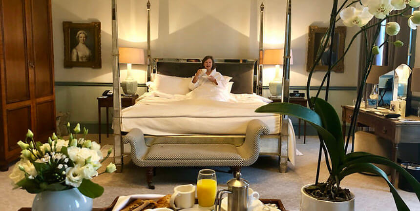 duke of york suite, royal crescent hotel & spa, bath england luxury hotel