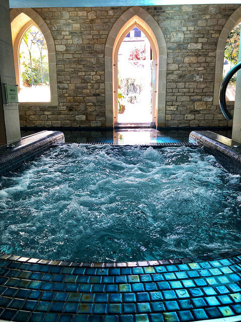 vitality pool, royal crescent hotel & spa, bath england spa