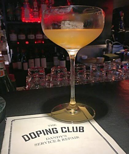 Doping Club cocktail