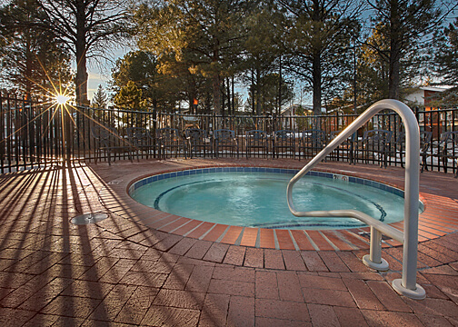 Hot tub, Little America Hotel, Flagstaff, Arizona (Photo courtesy of Little America Hotel - Flagstaff)