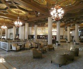 Historic Hotel Syracuse Lobby now a Marriott