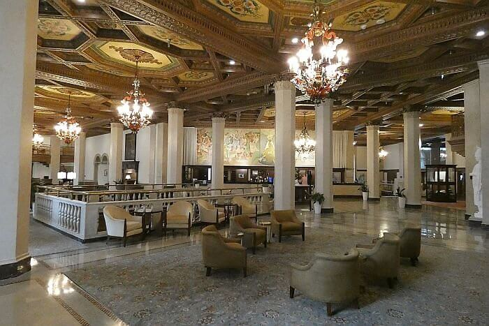 Historic Hotel Syracuse Lobby now a Marriott