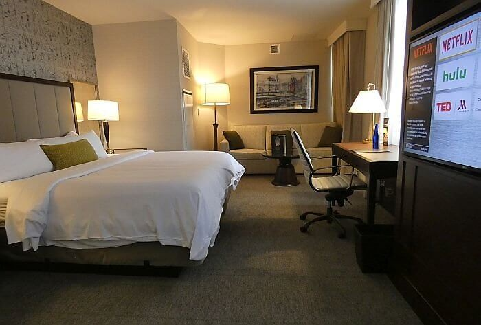 Syracuse Marriott room