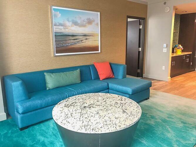 landshark chairs at River Spirit Casino Resort
