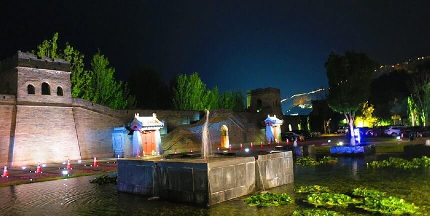 Simatai Great Wall night