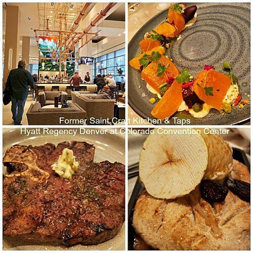 Dining options include the new Former Saint Craft Kitchen & Taps at Hyatt Regency Denver Colorado Convention Center #downtownDenverhotel #diningDenver