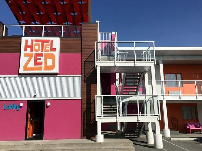 Exterior, Hotel Zed, Kelowna BC Canada