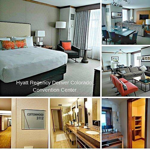 Check into the Hyatt Regency Denver Colorado Convention Center #denverhotel #hyattregencydenverccc