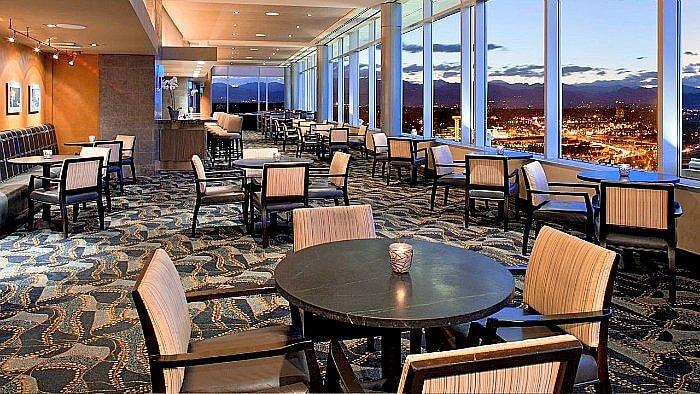 Peaks Lounge at the Hyatt Regency Denver Colorado Convention Center