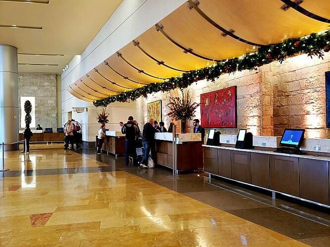 Hyatt Regency Denver Colorado Convention Center lobby