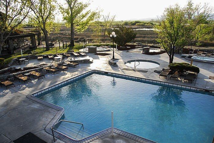 Outdoor Pools, Walley's Hot Springs Resort, Nevada