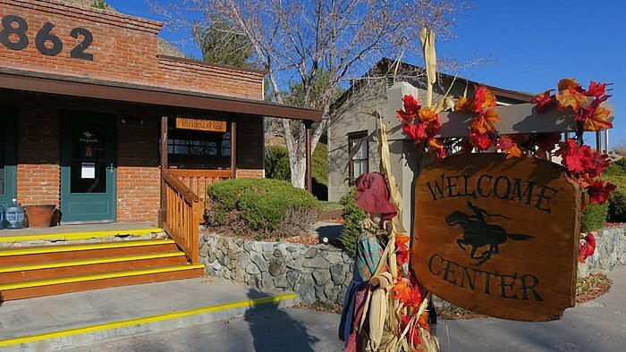 Welcome Center, Walley's Hot Springs Resort