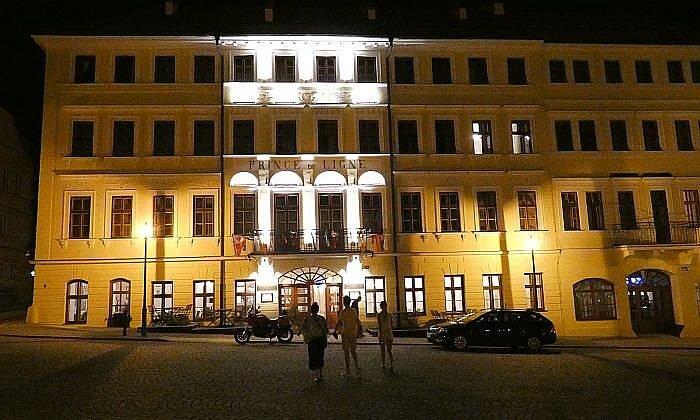 Prince de Ligne Hotel in Teplice Czech Republic
