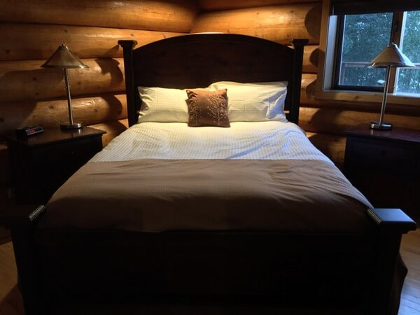Guest room, Inn on the Lake, Whitehorse, Yukon, Canada