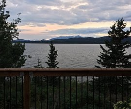 Lake views, Inn on the Lake, Whitehorse, Yukon, Canada