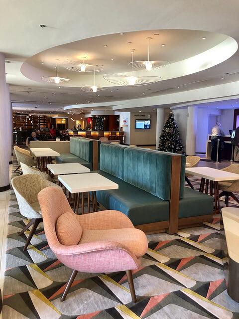 miami airport marriott hotel lobby, miami airport hotel