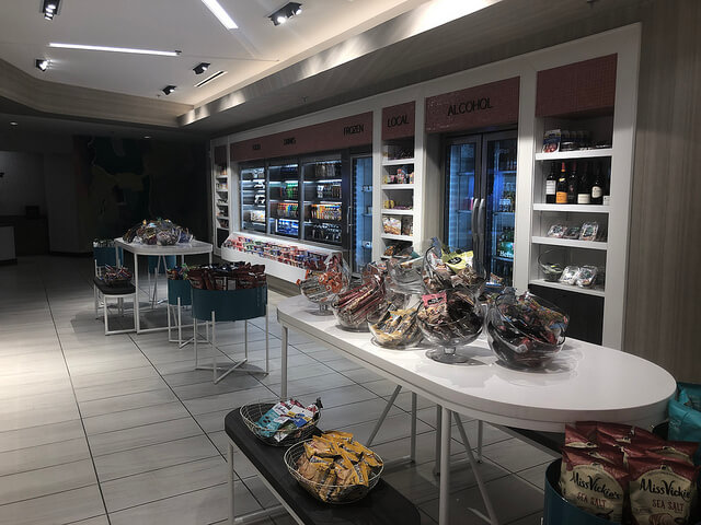 mias pantry, miami airport marriott hotel, grab and go dining, miami, florida