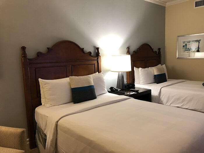 Double beds, Ocean View Room, Marriott San Juan