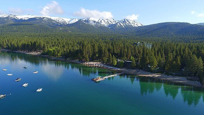 Aerial Lake Tahoe