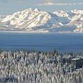 Winter Sierra Mountains