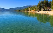 North Lake Tahoe private beach