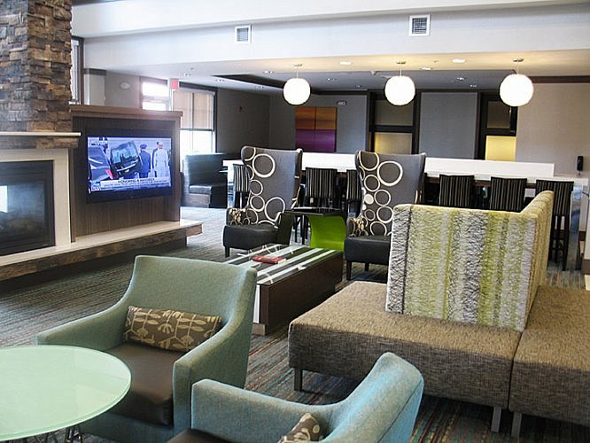 Lobby, Residence Inn by Marriott Decatur Forsyth, Illinois (Photo by Susan McKee)