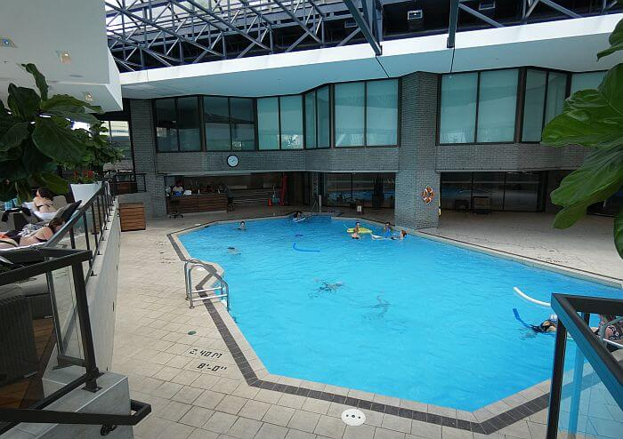 heated indoor swimming pool Montreal hotel