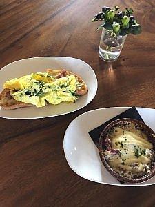 AC Hotel Sunnyvale breakfast choices