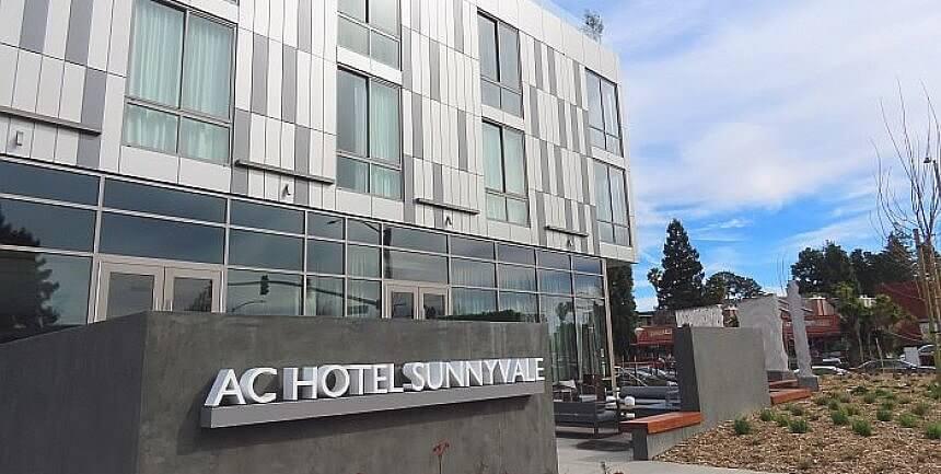 outside AC Hotel Sunnyvale