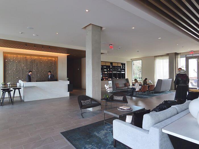 AC Hotel Sunnyvale lobby