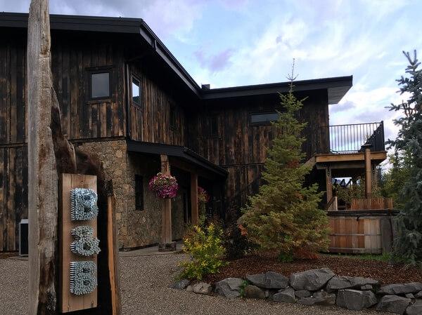 Exterior, Blackstone B&B, Fernie, BC, Canada