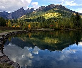 Maiden Lake, Fernie, BC, Canada