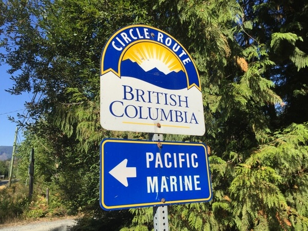 Pacific Marine Circle Route, Vancouver Island, BC Canada