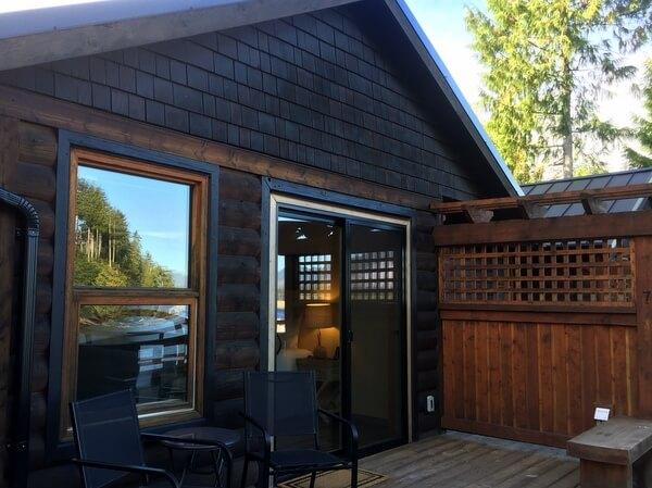 Cottage, Wild Renfrew, Port Renfrew, Vancouver Island, BC Canada